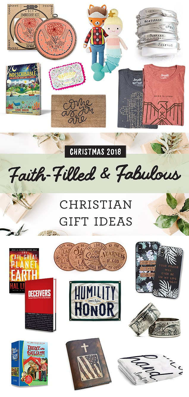 Christian Gift Ideas Christmas 2018 | Faith Filled and Fabulous
