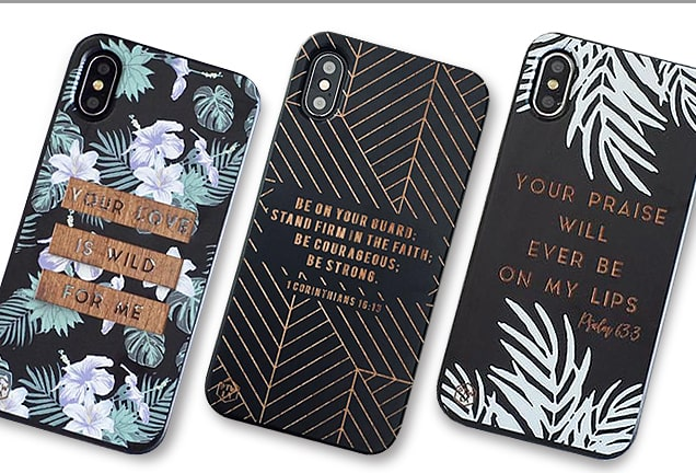 Christian Scripture iPhone Cases from Prone to Wander