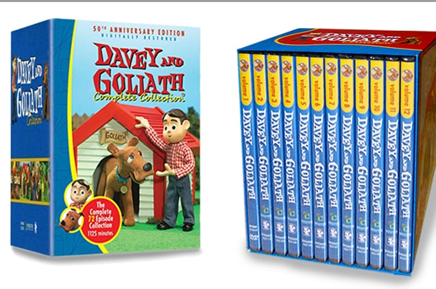 Davey and Goliath DVD Complete Set