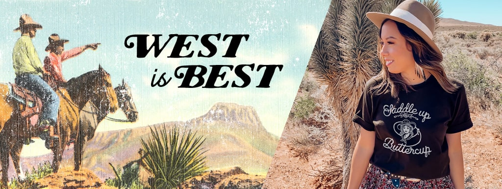 Country Western T-Shirts | West is Best
