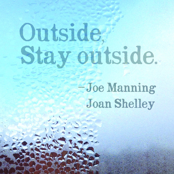 "Joan Shelley & Joe Manning, ""Outside, Stay Outside"" Cover Art"