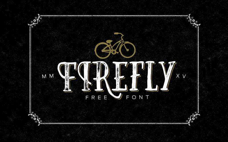 Vintage Type Co. - Firefly FREE Font