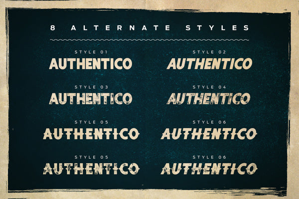Authentico Display Font
