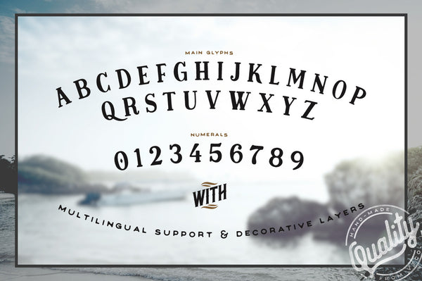 Midnight Owl Display Font