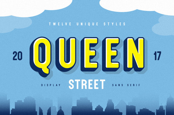 Queen Street Display Font