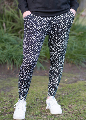 Tiggy Pants - Black & White