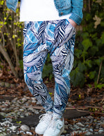 Tiggy Pants - Blue & Black