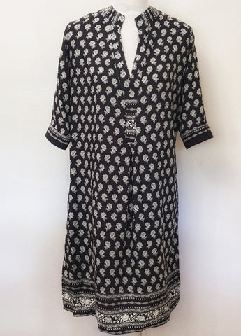 Amber Dress - Black and White