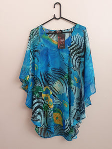 Beach coverup - Blue