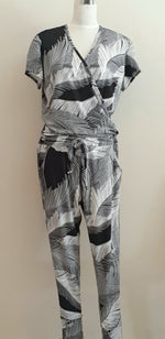 Aimee Jumpsuit - Black/Grey