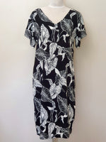 Julia Dress (REVERSIBLE) - Black & White