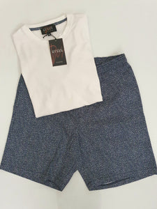 Men's Pyjama Short Set - Stardust