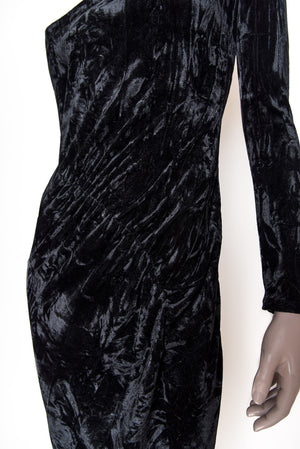 Grace Dress - Black velvet