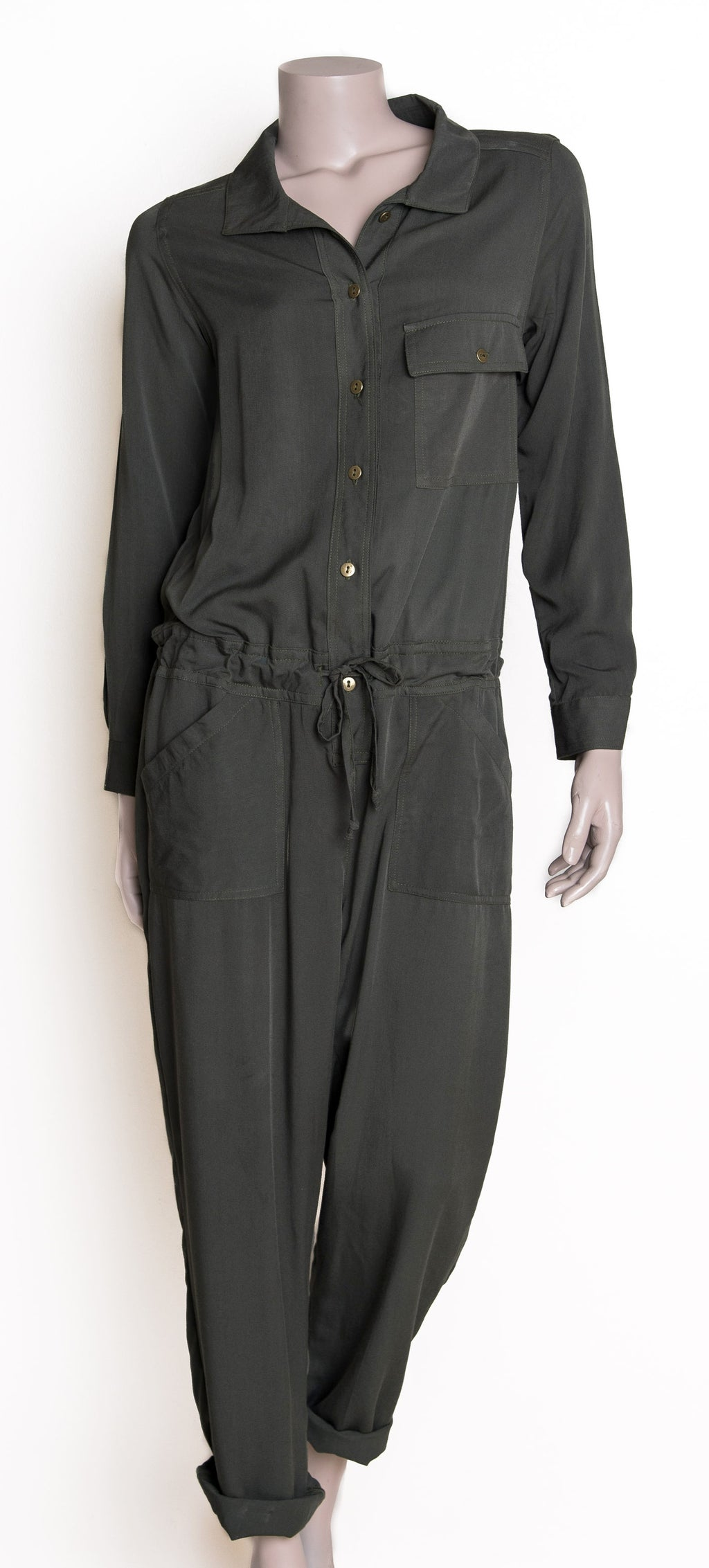 Willow Jumpsuit - Khaki