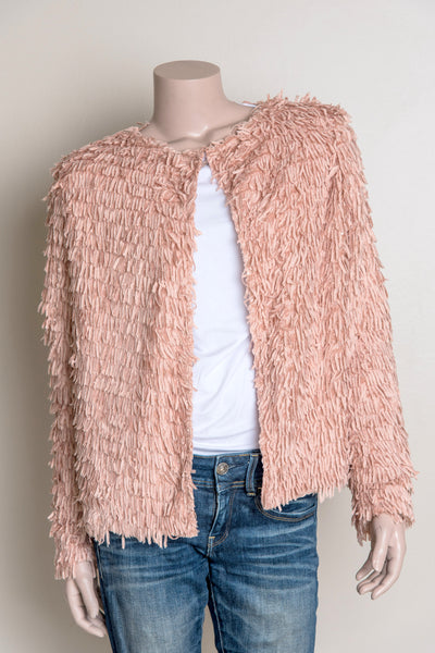 Shaggy Jacket - Dusty Pink