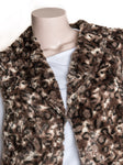 Fur Gilet - Brown