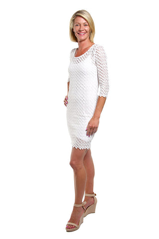 Lunar Dress white