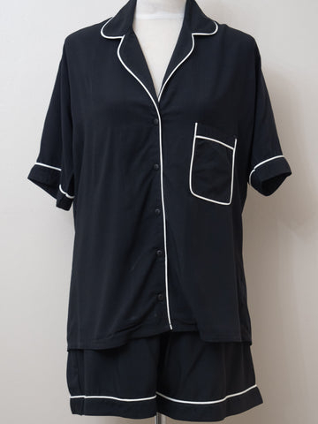 Short Pyjama Set - Black