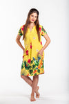 Amber Dress - Yellow