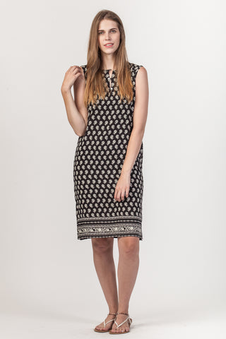 Sydney Dress - Black/White
