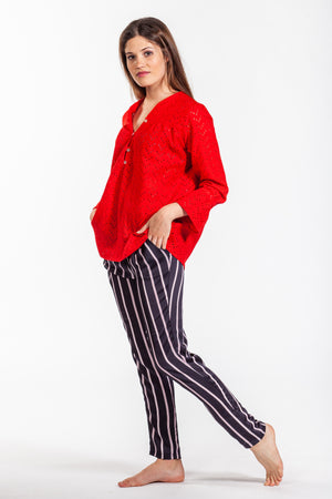 Kennedy Shirt - Red