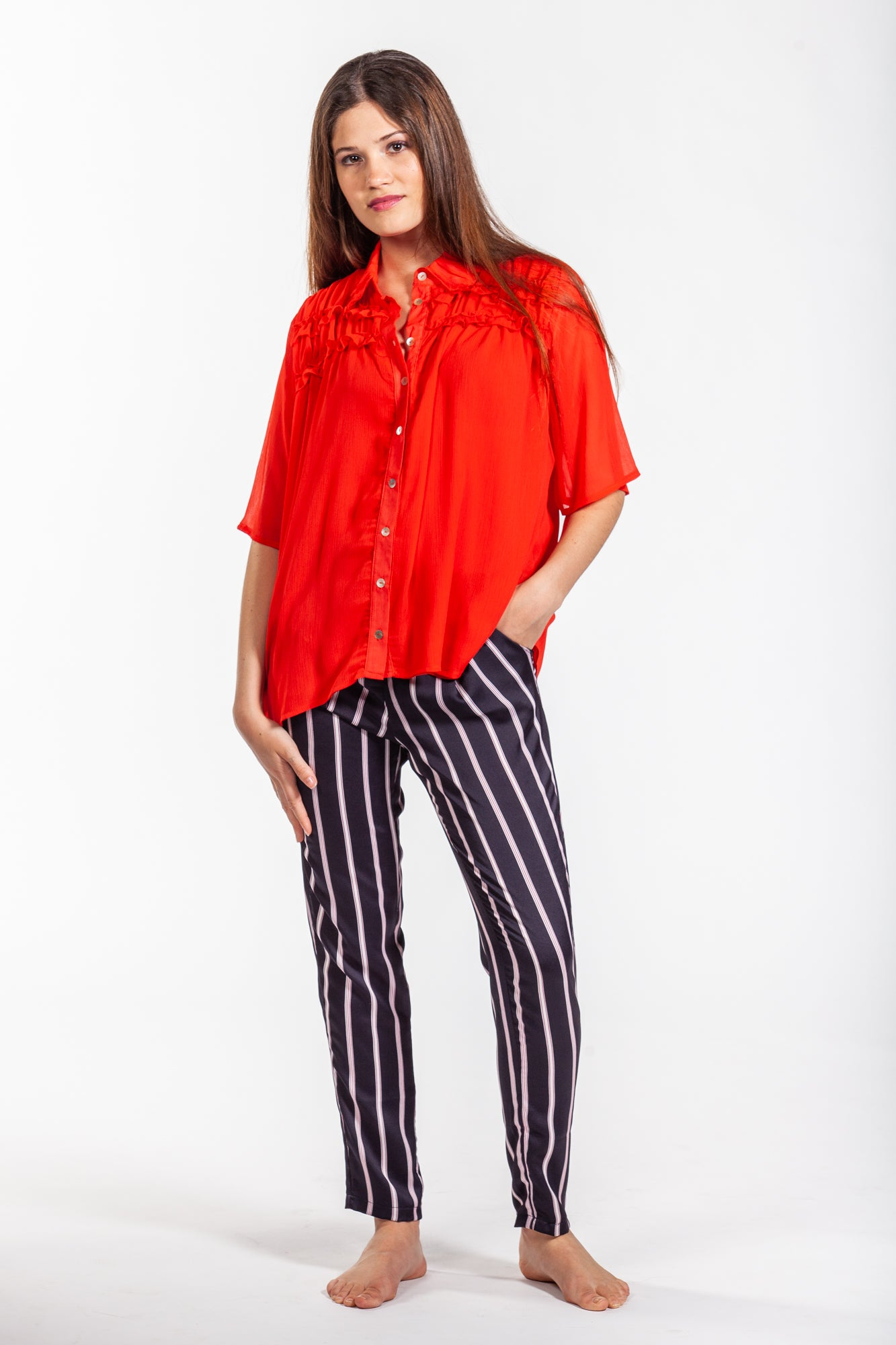 Coco shirt - Red