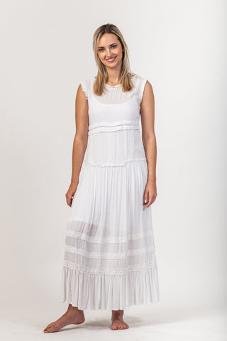 Ashley Dress - White