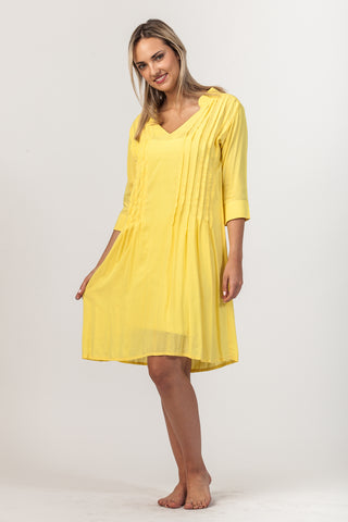 Alexa Dress - Yellow