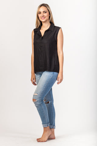 Gabriella Shirt - Black