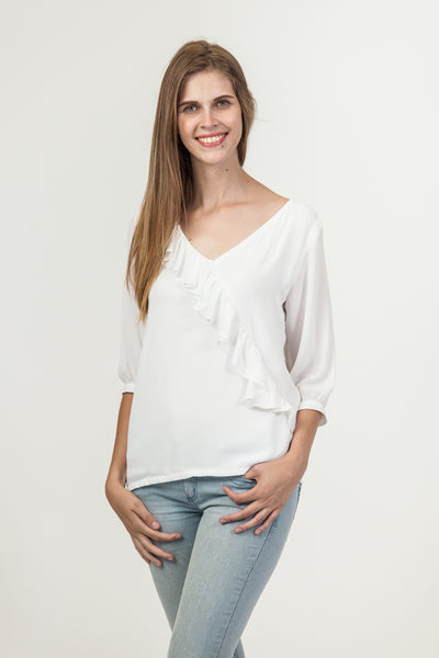 Kelly Shirt - White