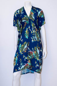 Faith Dress - Blue Birds