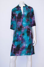 Amber Dress - Hazy Blues