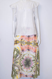 Ashley Skirt - Ivory/Lilac