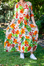 Paris Dress - Bright Floral