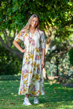 Paris Dress - Creme Floral