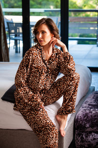 Long Pyjama Set - Animal Print
