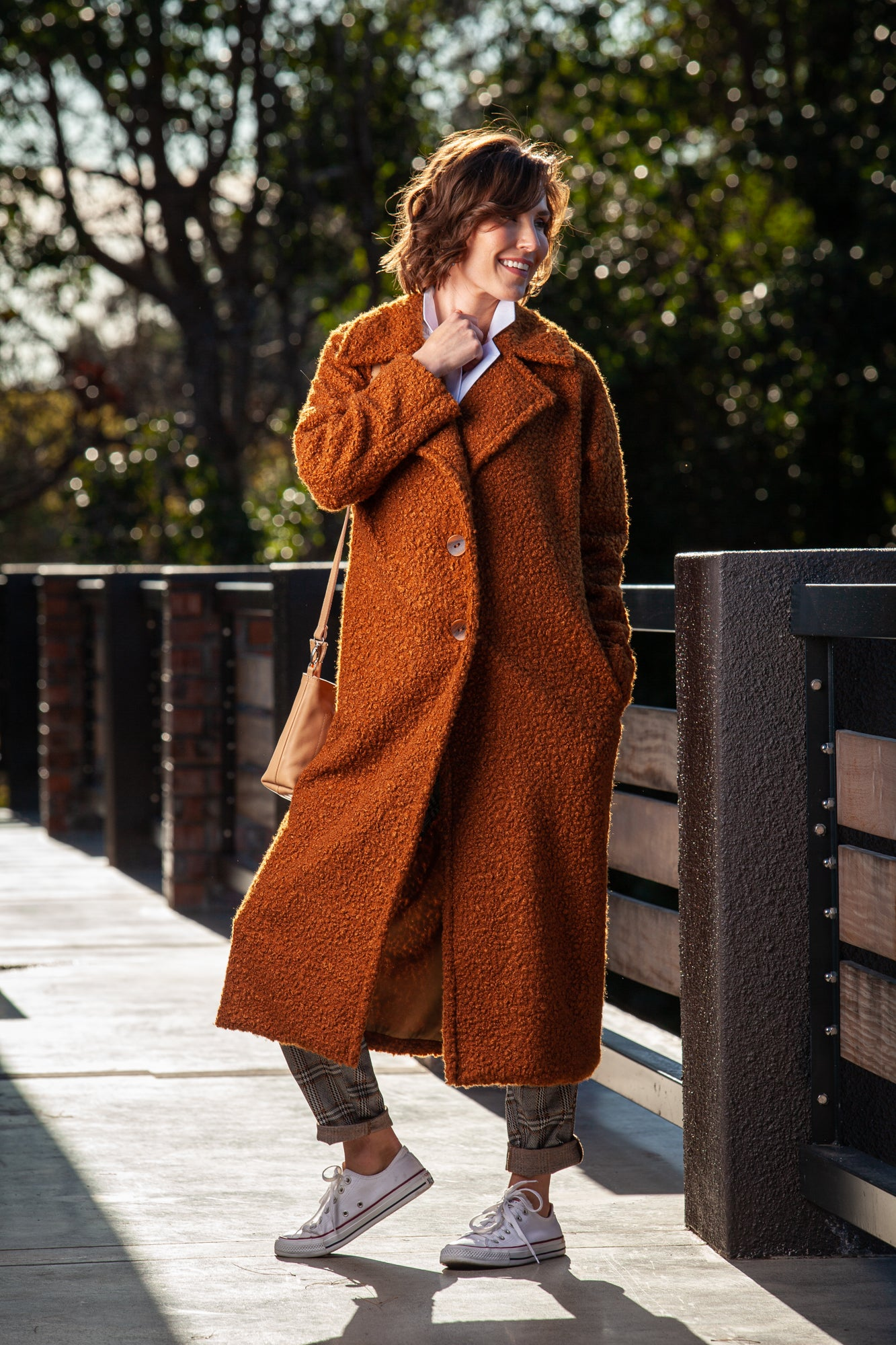 Teddy Coat - Walnut