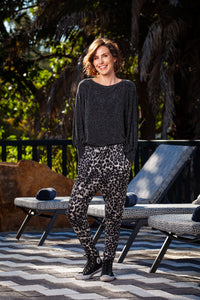 Tiggy Pants - Black/Grey