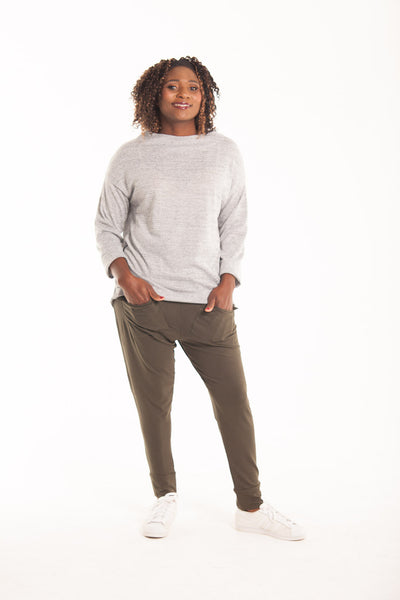 Pocket Harem Pants - Khaki