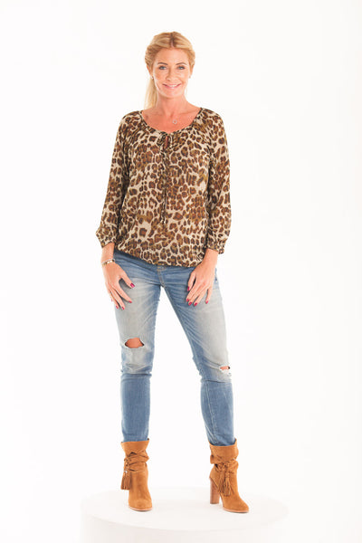 Hailey Shirt - Animal print