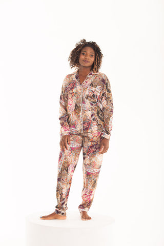 Long Pyjama Set - Tapestry