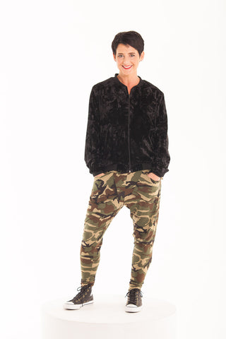Pocket Harem Pants - Camo