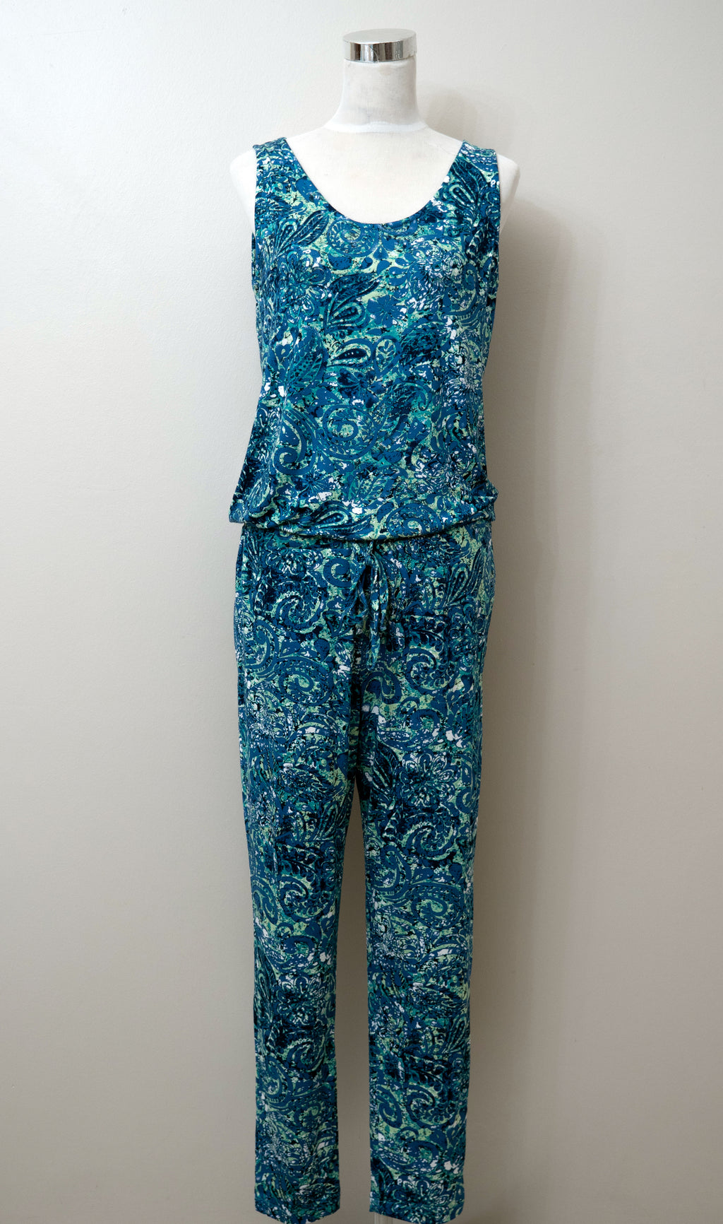 Molly Jumpsuit Jumpsuit - green floral