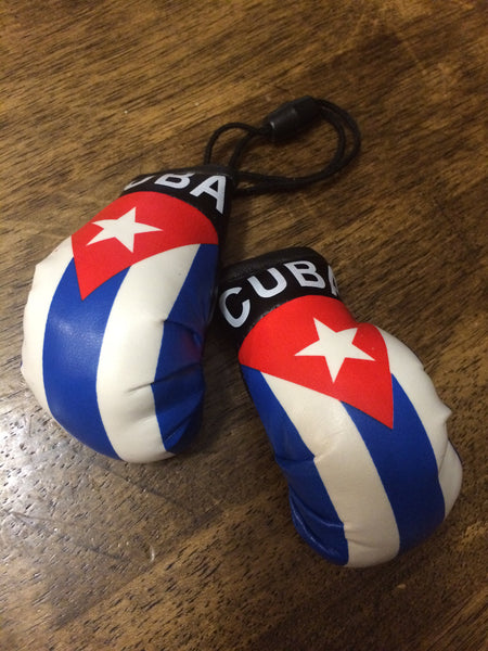 Mini Gloves Cuba with autograph Joel Casamayor