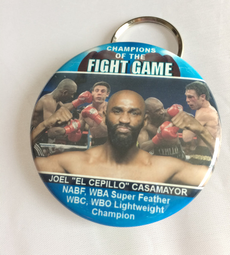 Keychain/bottle opener Blue or Red Joel Casamayor