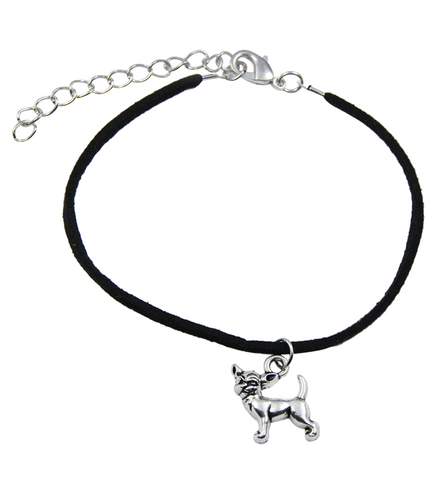 Chihuahua Faux Leather Bracelet