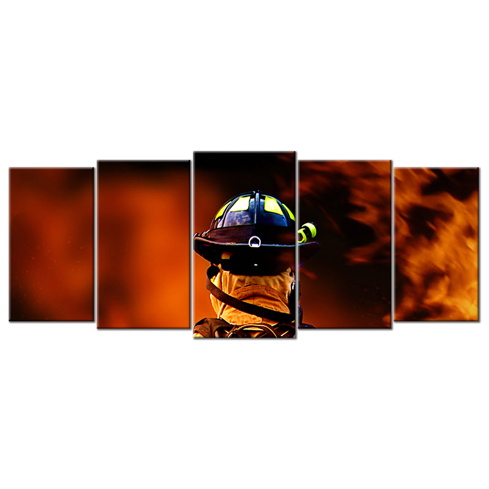Firefighters 2 - 5 panel