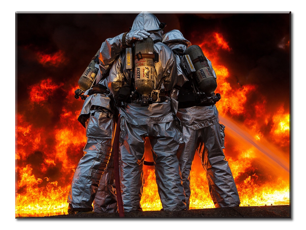 Firefighters 2 - 1 panel