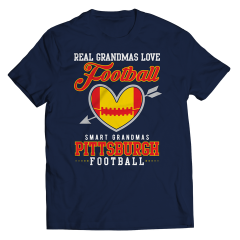 Limited Edition - Real Grandmas Love Football- Pittsburgh