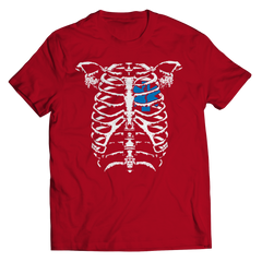 EMT Heart In Ribcage